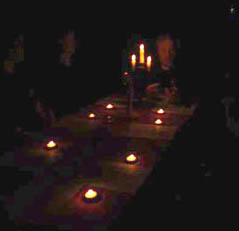 Seance at Chicago haunted location with Edward Shanahan