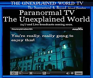 Paranormal TV 24/7 Graphic